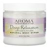 Abra Therapeutics, Натуральный скраб для тела «Глубокое расслабление» с лавандой и мелиссой, 510 г (18 унций)