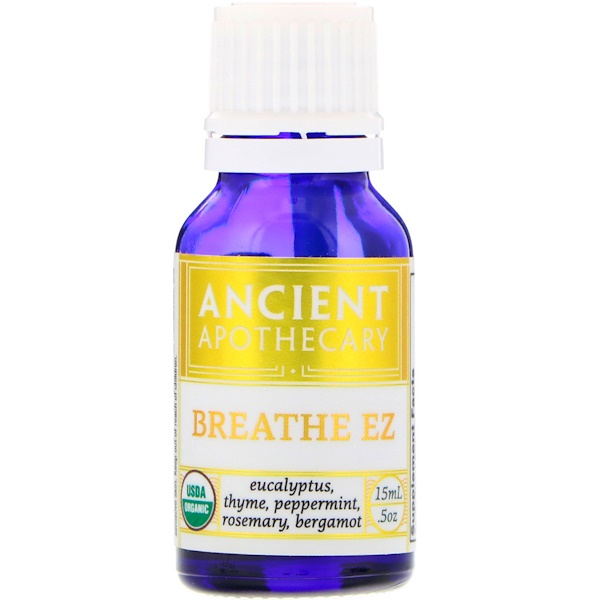 Ancient Apothecary, Дыхание EZ, 15 мл (Discontinued Item)