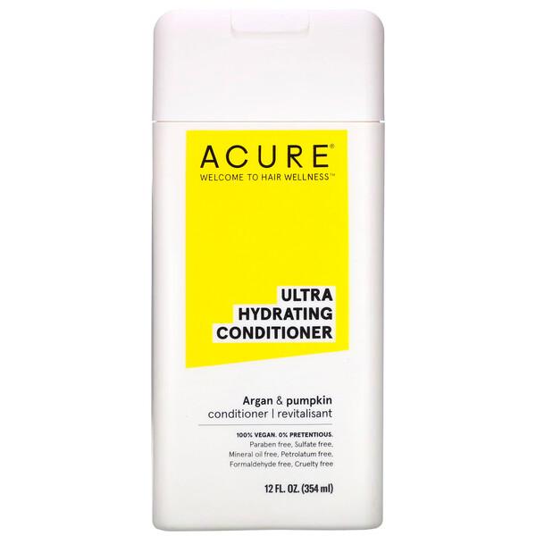 Acure, Кондиционер Mega Moisture, аргановое масло и тыква, 354 мл (12 жидких унций) (Discontinued Item)