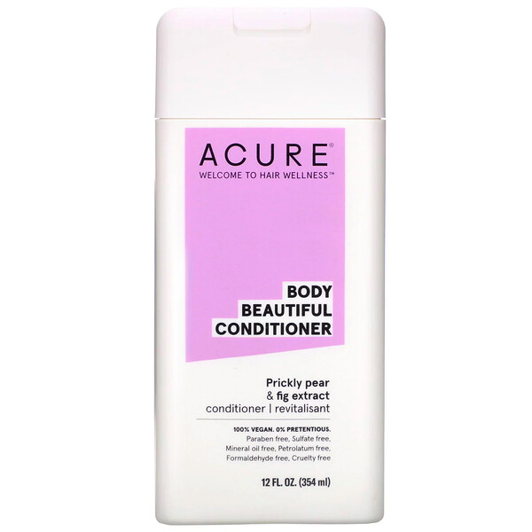 Acure, Body Beautiful Conditioner, Prickly Pear & Fig
