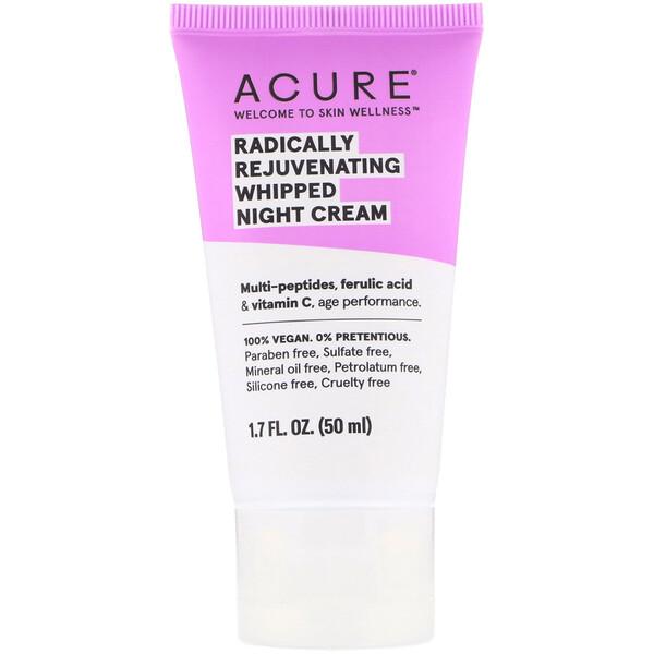 Acure, Радикально омолаживающий ночной крем, 50мл (1,7жидк.унции)
