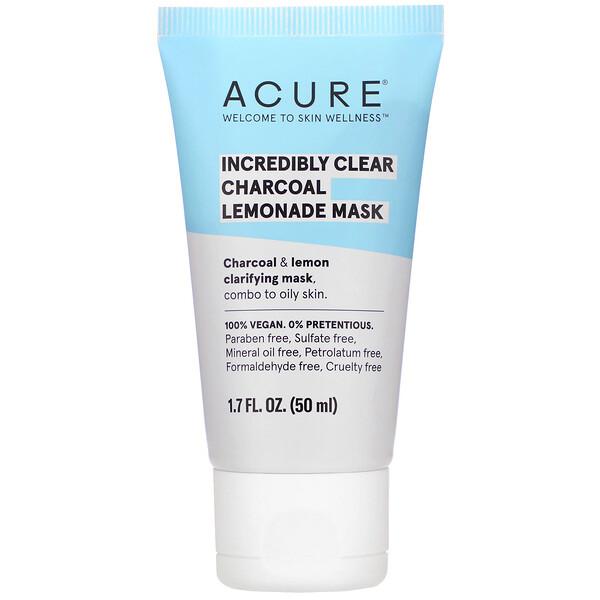 Incredibly Clear Charcoal Lemonade Mask, 1.7 fl oz (50 ml)