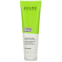 Acure, Curiously Clarifying Shampoo, Lemongrass & Argan, 8 fl oz (236.5 ml)