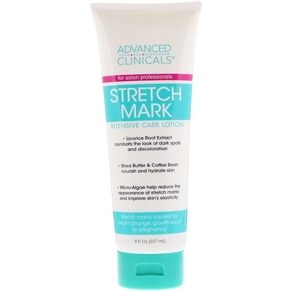 Advanced Clinicals, Stretch Mark Intensive Care Lotion, 8 fl oz (237 ml)