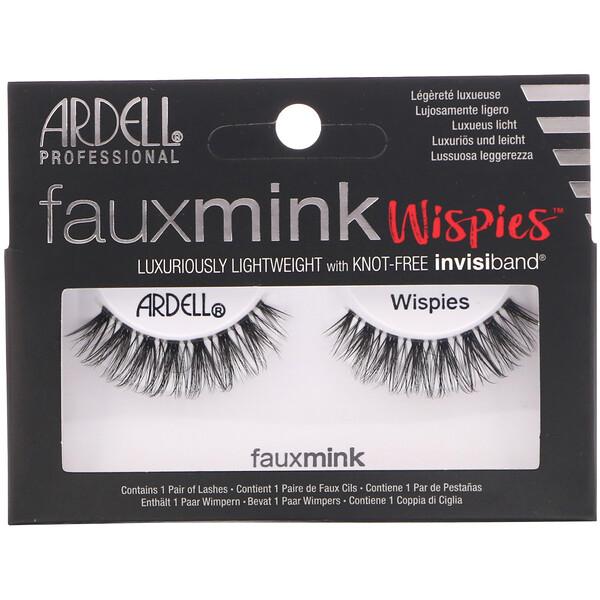 Faux Mink, накладные ресницы Wispies, 1пара