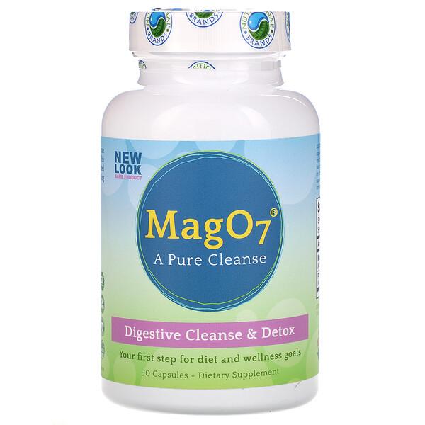 Mag O7, средство для чистки и детоксикации пищеварительного тракта, 90 капсул