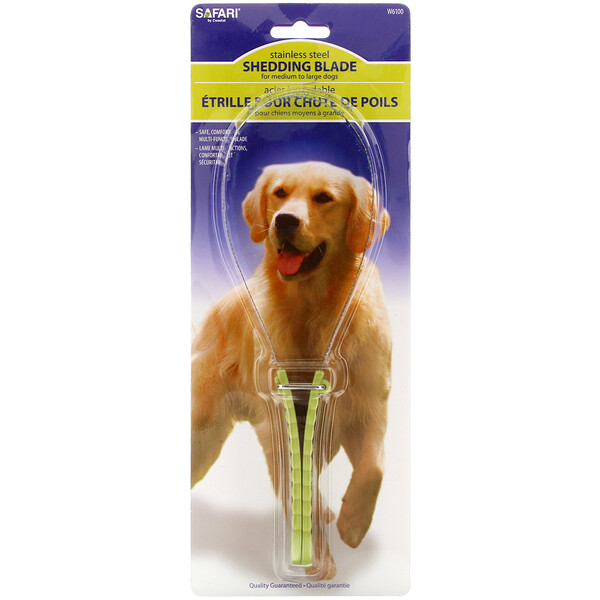 Shedding Blade for Medium to Large Dogs, 1 Count