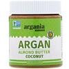 Argania Butter, Миндальная паста с аргановым маслом, кокос, 284г