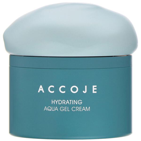 Accoje, Увлажняющий крем-аквагель, 50мл (Discontinued Item)
