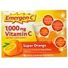 Emergen-C, Super Orange, витаминС, 1000мг, апельсин, 30пакетиков, 9,1г (0,32 унции) каждый