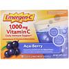 Emergen-C, Витамин С, ягоды асаи, 1000 мг, 30 пакетиков весом 8,7 г (0,30 унции) каждый