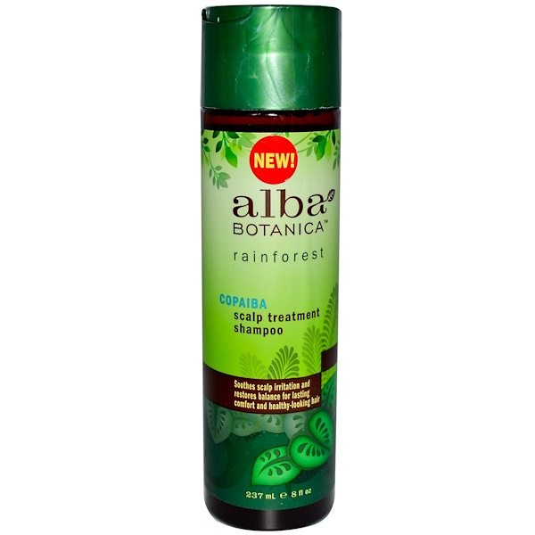 Alba Botanica, Copaiba Scalp Treatment Shampoo, 8 fl oz (237 ml) (Discontinued Item)