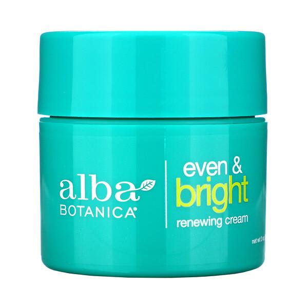 Even & Bright Renewing Cream with Swiss Alpine Complex, 2 oz (57 g)