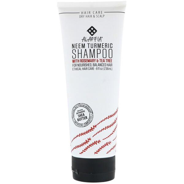 Neem Turmeric, Shampoo, Rosemary & Tea Tree, 8 fl oz (236 ml)