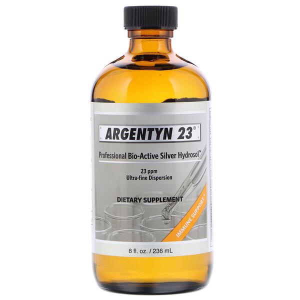 Argentyn 23, Professional Bio-Active Silver Hydrosol, 236 мл (8 жидких унций)