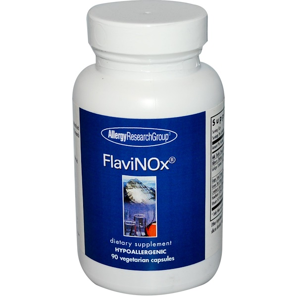 Allergy Research Group, FlaviNOx, 90 Veggie Caps (Discontinued Item)