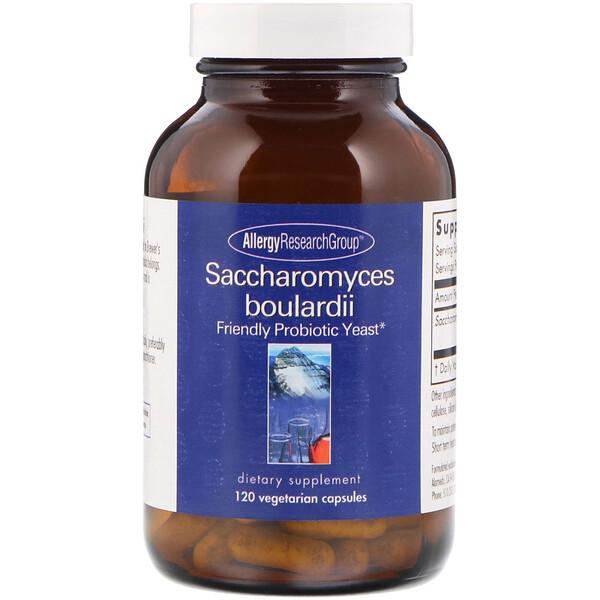 Allergy Research Group, Сахаромицеты Буларди, пробиотические дрожжи, 120 вегетарианских капсул