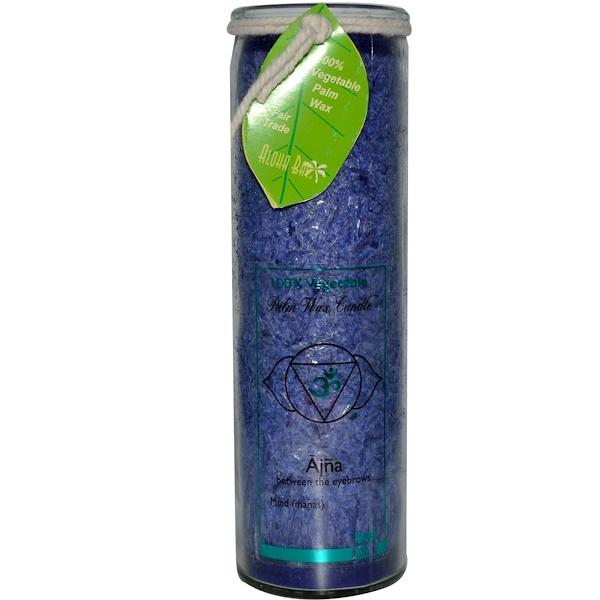 Aloha Bay, 100% Vegetable Palm Wax Candle, Chakra Jar, Ajna, 17 oz (Discontinued Item)