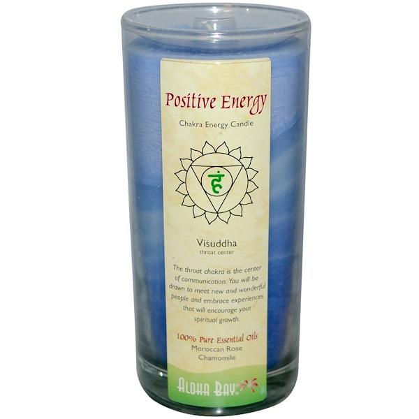 """Свеча """"Энергия чакр"""", положительная энергия, 11 унций"""