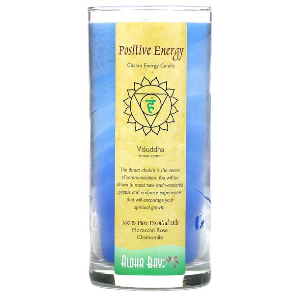 """Aloha Bay, Свеча """"Энергия чакр"""", положительная энергия, 11 унций"""
