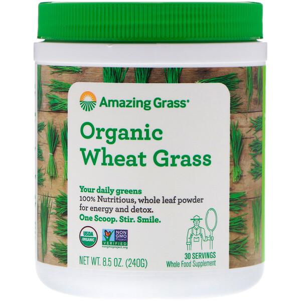 Amazing Grass, Органические ростки пшеницы, 240г