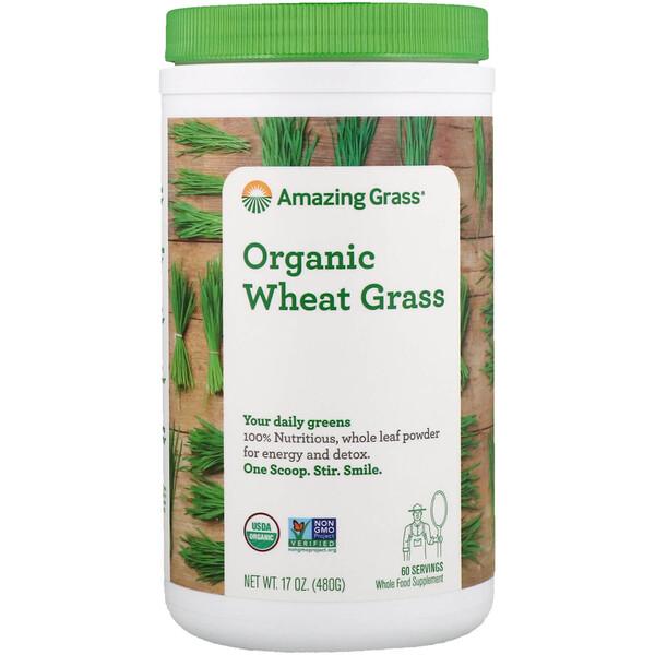 Amazing Grass, Органические ростки пшеницы, 480 г (17 унций)