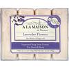 A La Maison de Provence, Кусковое мыло для рук и тела с ароматом лаванды, 4 куска по 100г (3.5 унции)
