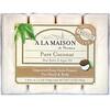A La Maison de Provence, Мыло для рук & тела, Чистый кокос, 4 бруска по 3.5 унции