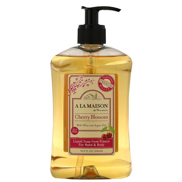 Жидкое мыло для рук и тела, вишня в цвету, 16,9 ж. унц. (500 мл)