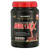 ALLMAX Nutrition, Isoflex, чистый изолят сывороточного протеина (фильтрация ИСП частицами, заряженными ионами), со вкусом шоколада, 907г (2фунта)
