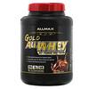 ALLMAX Nutrition, Gold AllWhey, 100% сывороточный протеин премиального качества, со вкусом шоколада, 2,27 кг (5 фунтов)