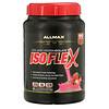 ALLMAX Nutrition, Isoflex, 100% ультрачистый изолят сывороточного протеина (WPI - Технология ионной фильтрации), клубника, 2 фунта (907 г)