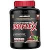 ALLMAX Nutrition, Isoflex, чистый изолят сывороточного белка (фильтрация ИСБ частицами, заряженными ионами), со вкусом шоколада и мяты, 2,27кг (5фунтов)