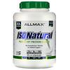 ALLMAX Nutrition, IsoNatural, чистый изолят сывороточного белка, оригинальная формула, без вкусовых добавок, 2,25 кг (5 фунтов)