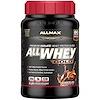 ALLMAX Nutrition, AllWhey Gold, 100 % сывороточный белок + изолят сывороточного белка премиум-качества, со вкусом шоколада, 907 г (2 фунта)