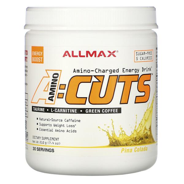 ACUTS, Amino-Charged Energy Drink, Pina Colada, 7.4 oz (210 g)
