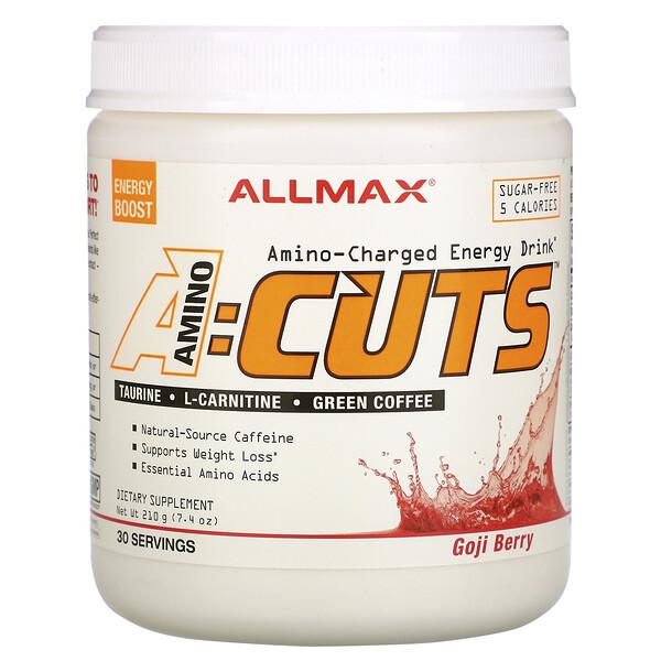 ACUTS, энергетический напиток с аминокислотами, ягоды годжи, 210г (7,4унции)