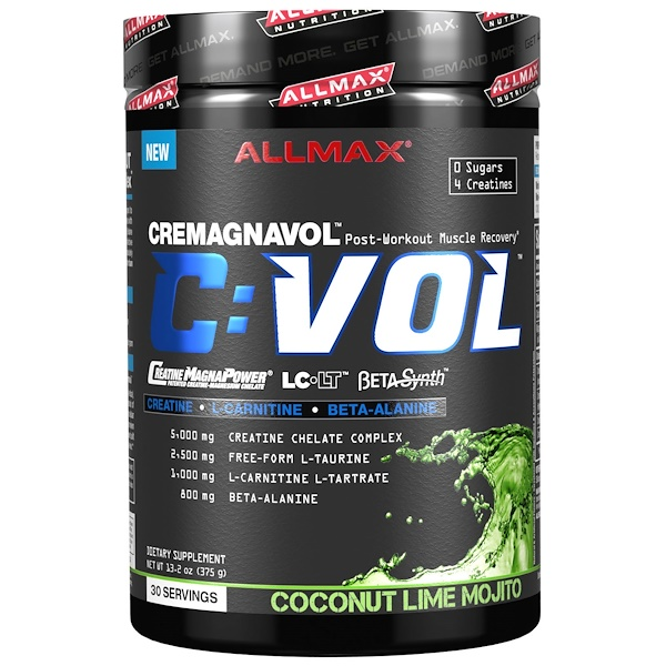 CVOL, Post-Workout Muscle Recovery, Coconut Lime Mojito, 13.2 oz (375 g)