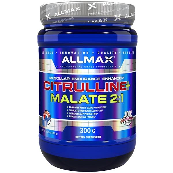 Цитруллина малат, с нейтральным вкусом (300г)