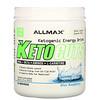 ALLMAX Nutrition, KetoCuts, кетогенный энергетический напиток, голубая малина, 8,47 унции (240 г)