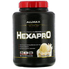ALLMAX Nutrition, Hexapro, смесь из 6протеинов ультрапремиального качества, французская ваниль, 2,27кг (5фунтов)