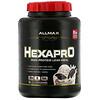 ALLMAX Nutrition, Hexapro, высокобелковое обезжиренное питание, вкус печенья со сливками. 2,27кг (5фунтов)