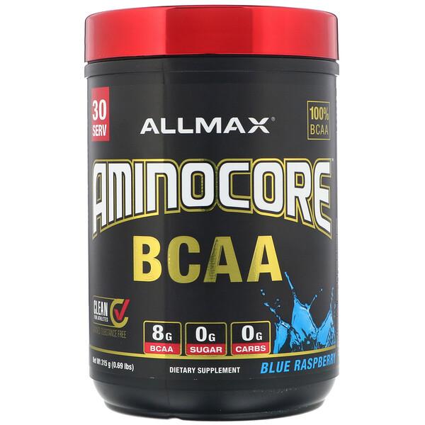 AMINOCORE BCAA, Blue Raspberry, 0.69 lbs (315 g)