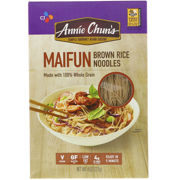 Annie Chun's, Maifun, Лапша из коричневого риса, 8 унций (227 г) (Discontinued Item)