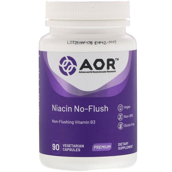 Niacin No-Flush, 90 растительных капсул