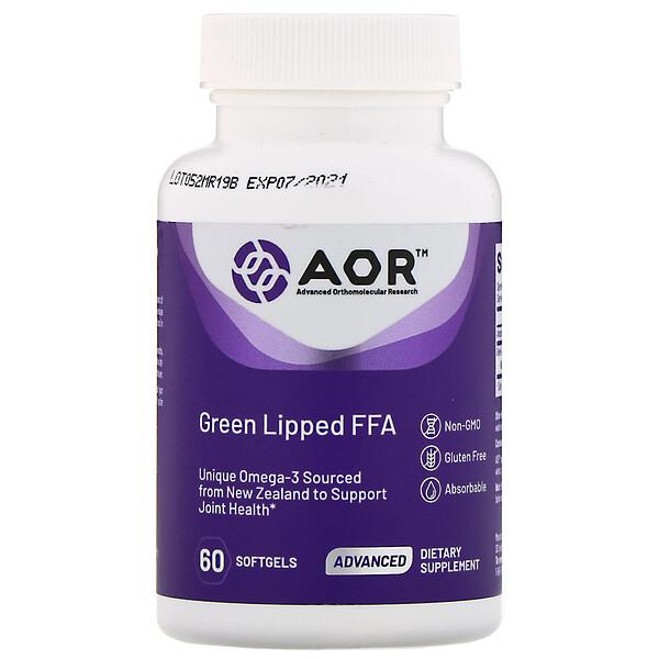 Свободные жирные кислоты из зеленогубых моллюсков, 60 мягких таблеток
