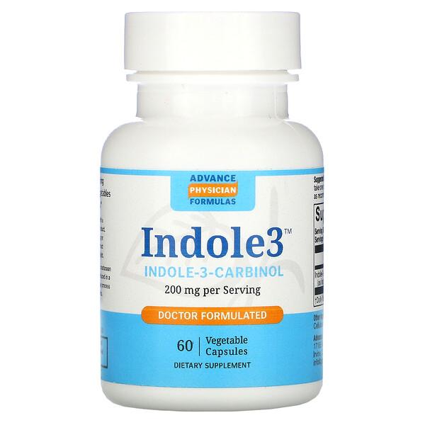 индол-3-карбинол, 200мг, 60растительных капсул