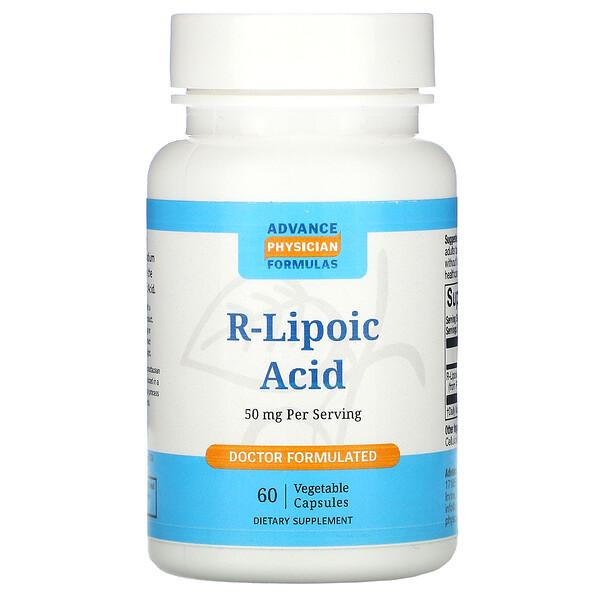 Advance Physician Formulas, R-липоевая кислота, 50 мг, 60 капсул