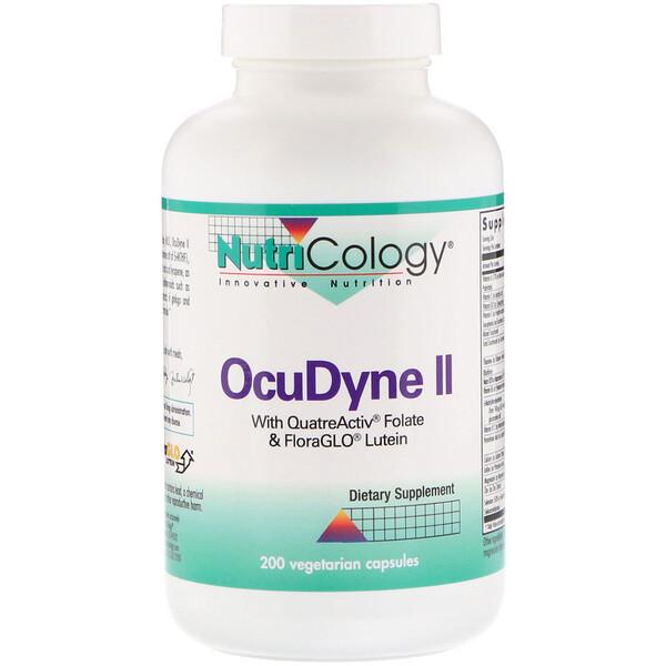 OcuDyne II, 200 вегетарианских капсул