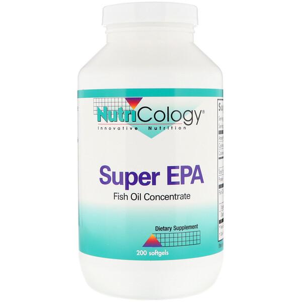 Супер ЭПК, концентрат рыбьего жира, 200 мягких капсул